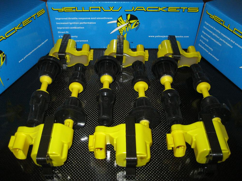 Yellow Jackets Coil Packs for VG30