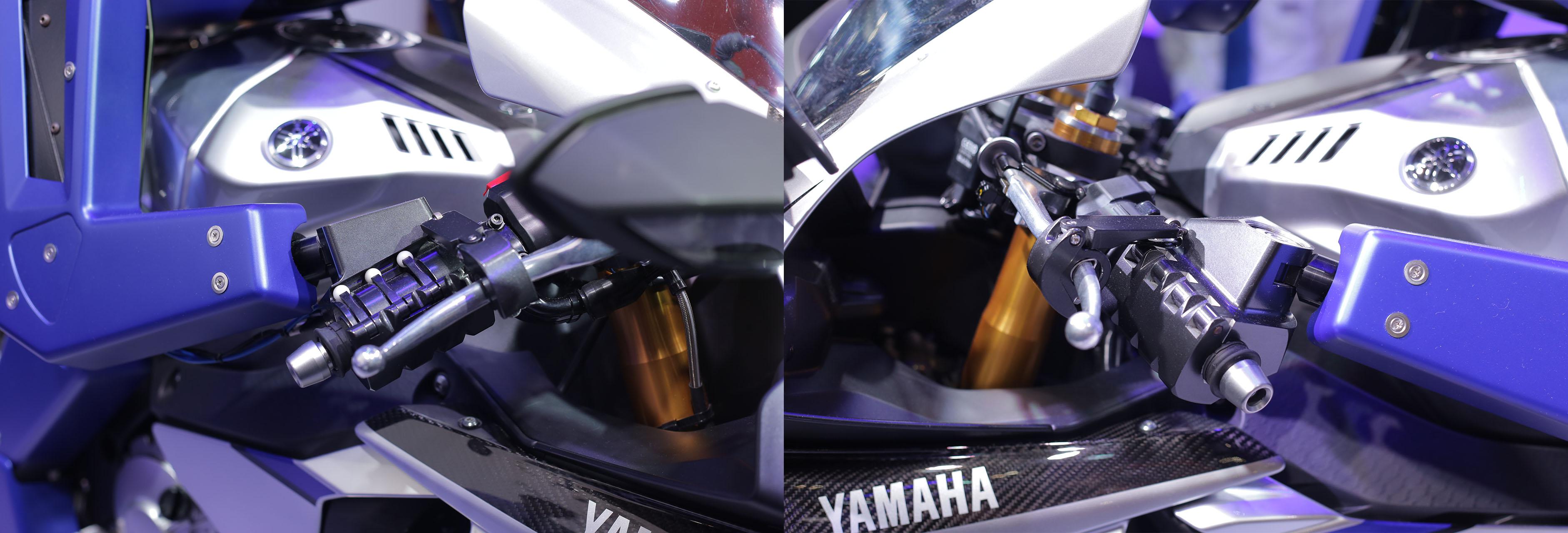 Yamaha MotoBot Controls