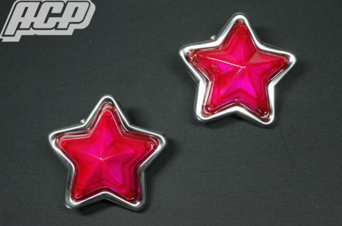JDM Star Indicator Light Pink