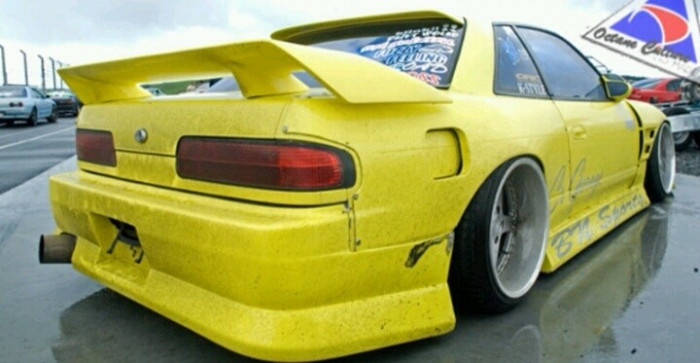 326 Power Man-Ryoku Rear Wing Spoiler