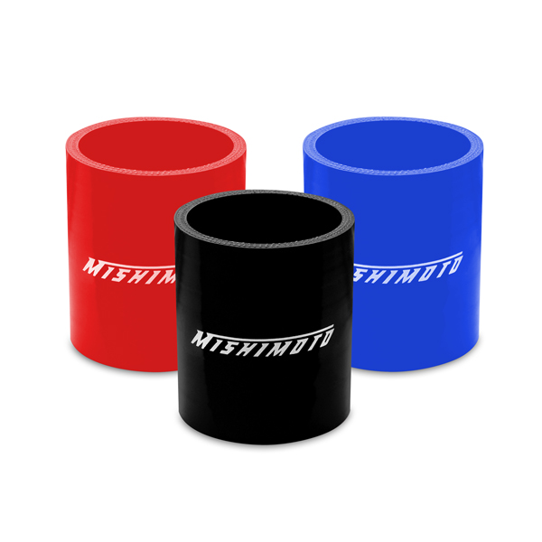 "Mishimoto 2.25"" Straight Coupler MMCP-225SBK"