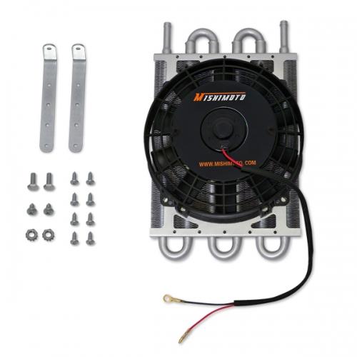 Heavy Duty Transmission Cooler W/ Electric Fan MMOC-F