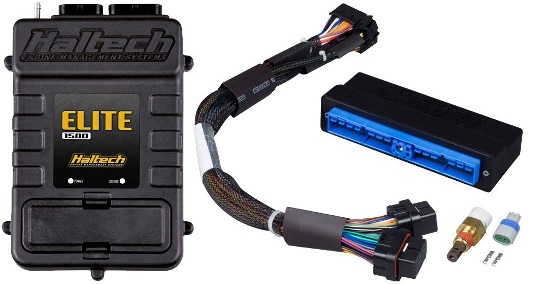 haltech elite 1500 plug 39 n 39 play adaptor harness ecu kit. Black Bedroom Furniture Sets. Home Design Ideas