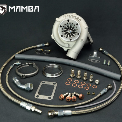 MAMBA GTX3076R Ball Bearing Turbo Kit - A/R .73 T3 V-Band