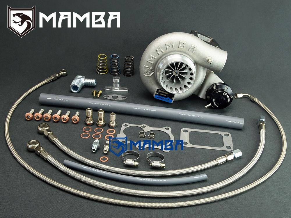 MAMBA GTX Billet Bolt-On Turbocharger For Nissan TD42 Safari Patrol TD05H-18G / 6cm