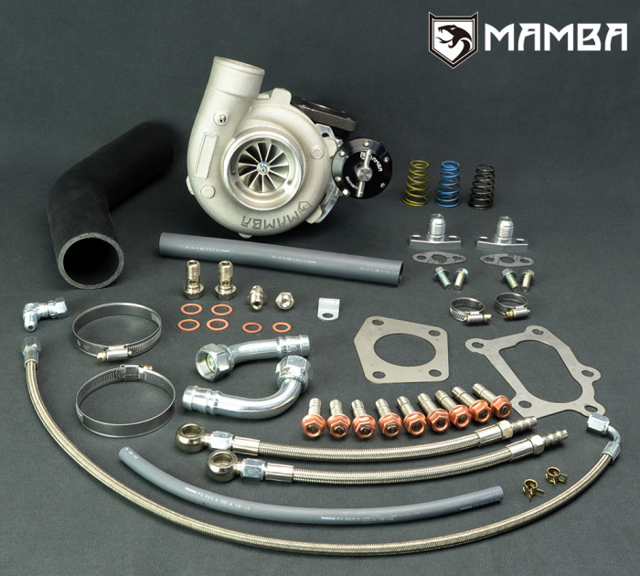 MAMBA GTX2867R Ball Bearing MAZDA MAZDASPEED 3/6/CX7/CX9 Turbo Kit - A/R .64