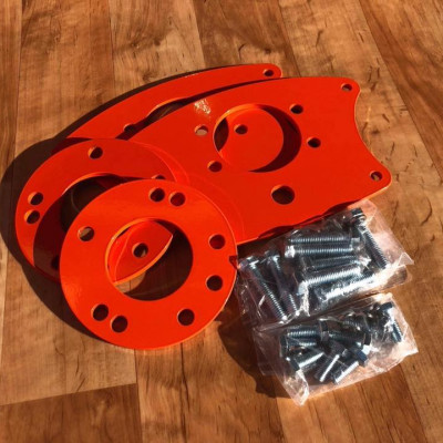 S & R Chassis Dual Rear Brake Caliper Kit