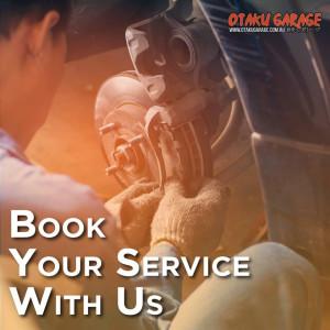 Book A Service - Otaku Garage